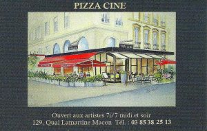 pizza cine couleur
