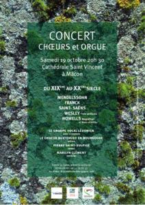 Affiche concert 19 oct 2019