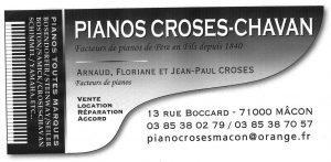 pianos croses
